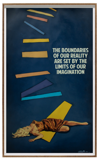The boundaries of our reality are set by the limits of our imagination by  The Connor Brothers