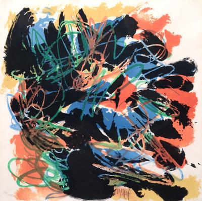 nu blue by Karel Appel