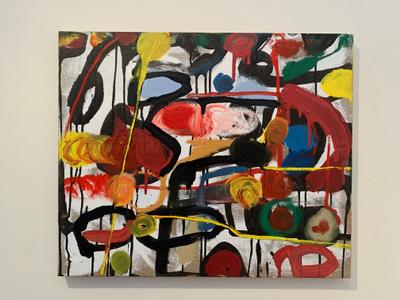 Oil on canvas by Stefan De Jaeger