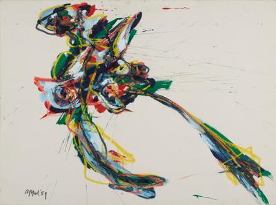 fly away by Karel Appel