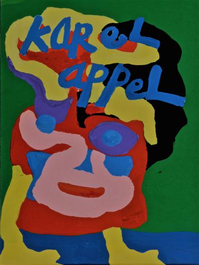 Circusclown by Karel Appel