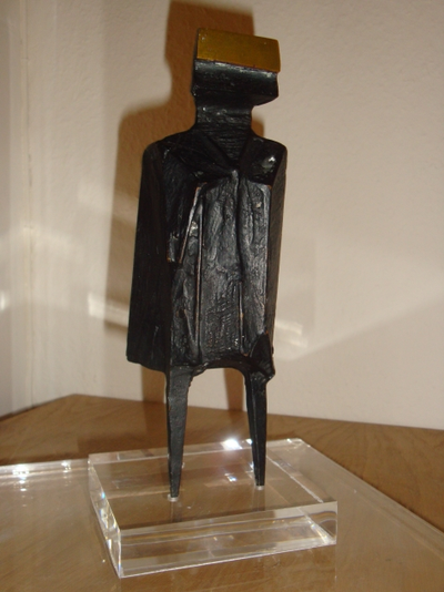standing figure by Lynn Russell Chadwick