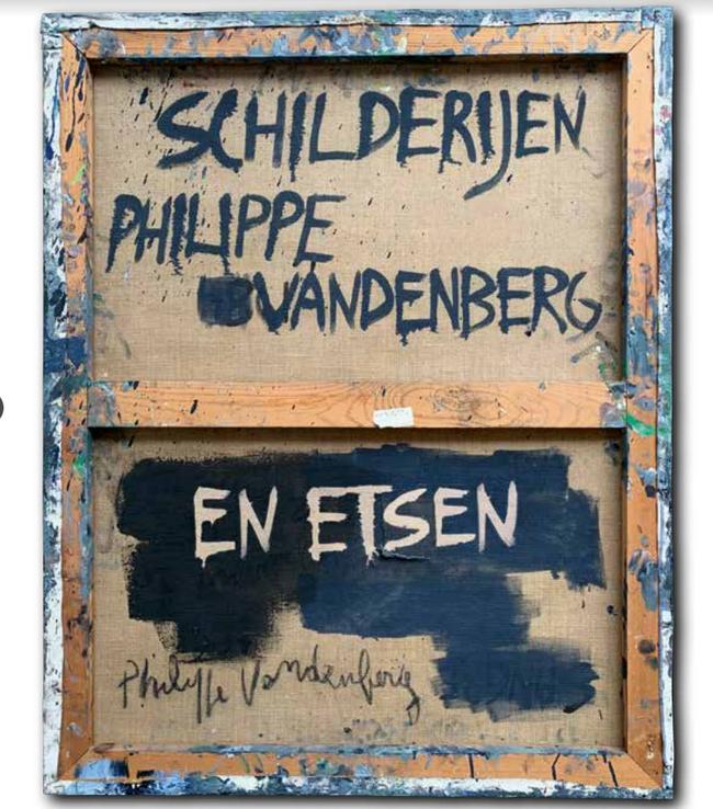 Philippe Vandenberg etsen en schilderijen