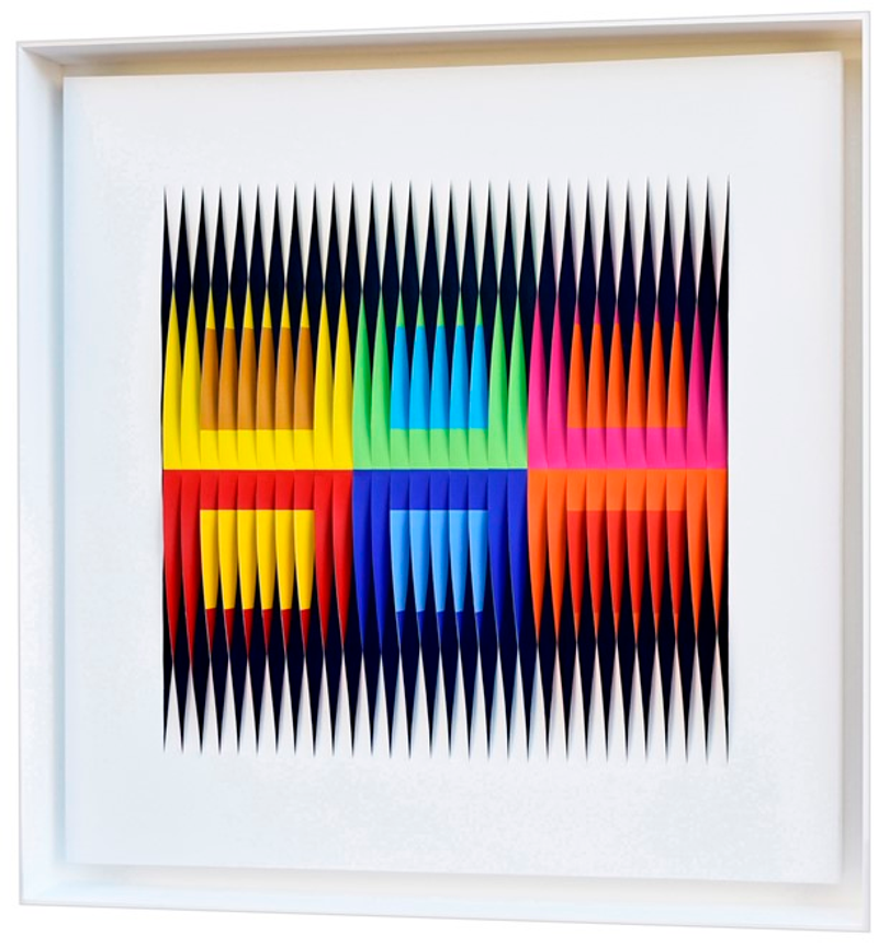 Dimensioni ottiche del colore by Alberto Biasi