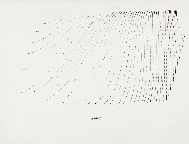 Untitled 3 by Heinz Mack