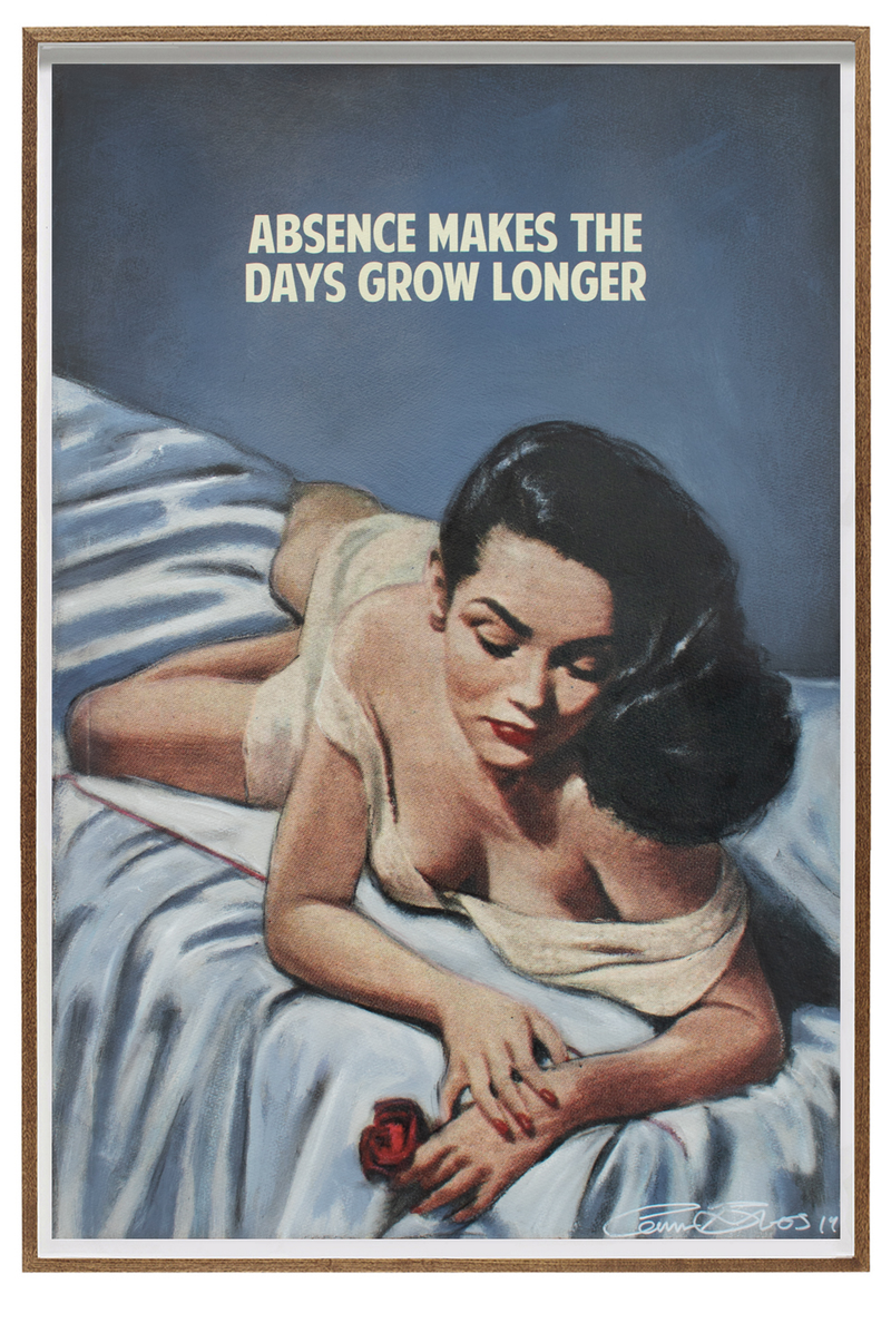 Absence makes the days grow longer by  The Connor Brothers