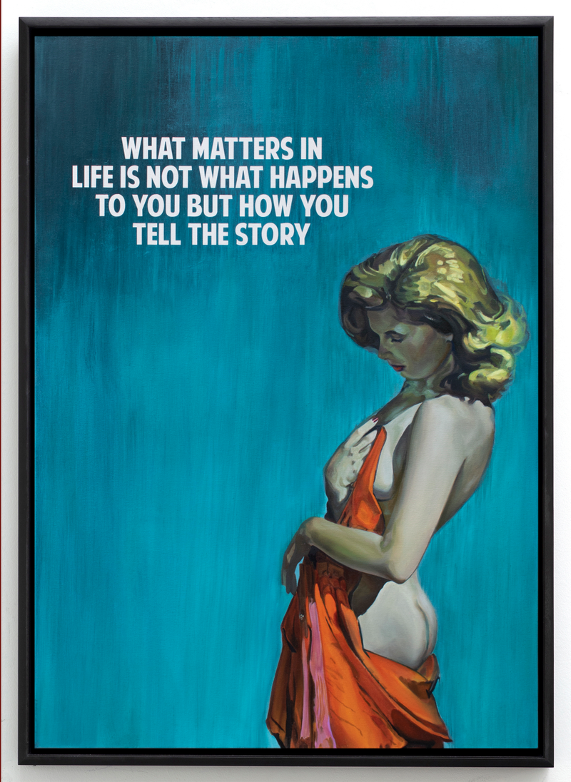 What matters in life is not what happens to you but how you tell the story by  The Connor Brothers