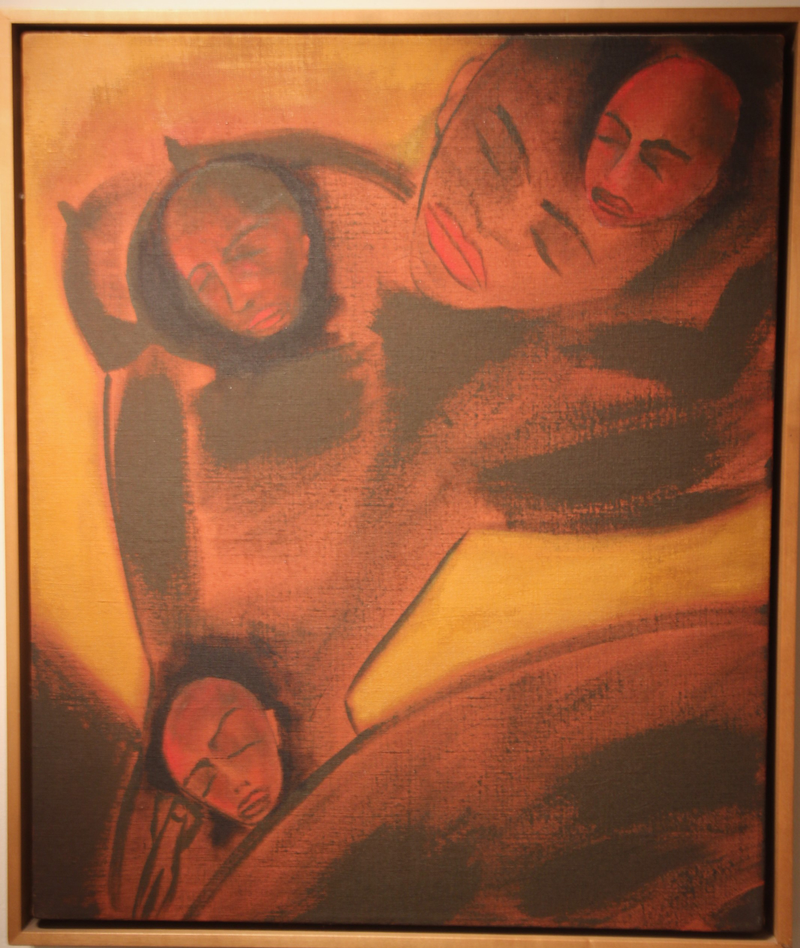 Untitled 1 by Francesco Clemente
