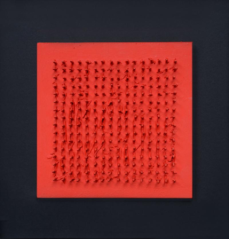 tableau clou 2 by Bernard Aubertin
