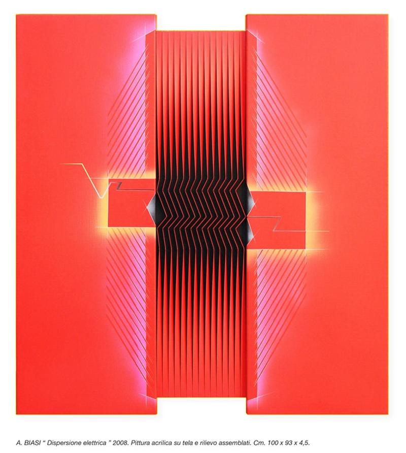 Dispersione elettrica by Alberto Biasi