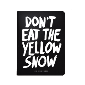 cover: Don't eat the yellow snow (Marcus Kraft)