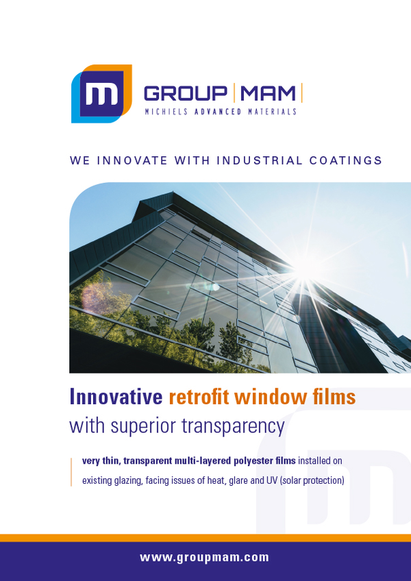 Innovative retrofit window films
