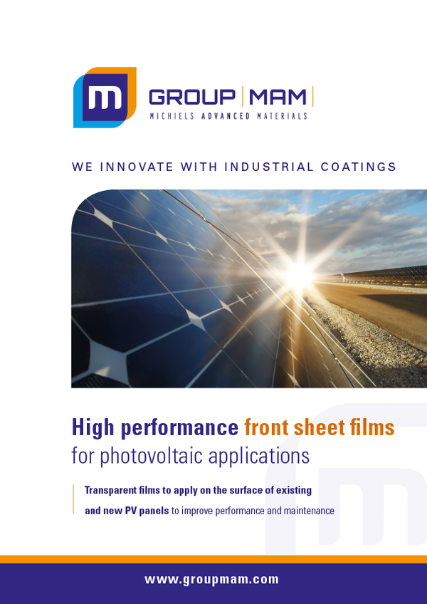 Photovoltaic panel films