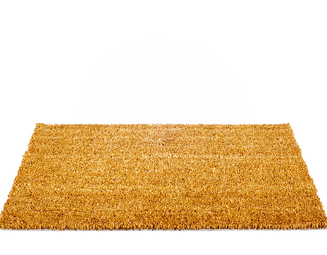 Plain carpet mats