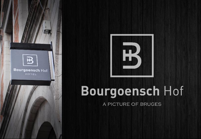 Een Brugs logement met stijl: Vizier gaf het Bourgoensch Hog een nieuwe huisstijl met bijhorende signalisatie٠design Brugge